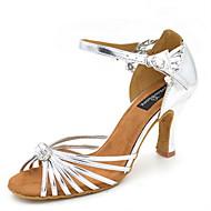 "Žene Latinski plesovi Eko koža Sandale Seksi blagdanski kostimi Kopča Stiletto potpetica Pink 3 ""- 3 3/4"" Moguće personalizirati"