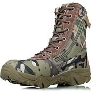 baratos Sapatos de Tamanho Pequeno-Homens Curta/Ankle Lona Outono / Inverno Botas Aventura Verde