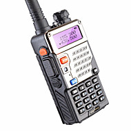 5w 128ch toveis radio walkie talkie baofeng uv-5re for jakt dual display fm vox uhf vhf radiostasjon cb radio