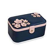 1pcチェリーブルーシンプルなヨーロッパのスタイル韓国の手の宝石の収納ボックス