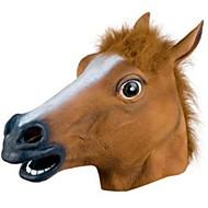 Masques d'Halloween Masque d'Animal Cheval Horreur Caoutchouc La colle Adulte Unisexe Garçon Fille Jouet Cadeau 1 pcs
