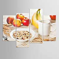 cheap Prints-Stretched Canvas Print Four Panels Canvas Any Shape Print Wall Decor Home Decoration