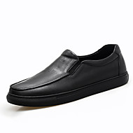 cheap Men's Slip-ons & Loafers-Men's Shoes Nappa Leather Spring Fall Comfort Loafers & Slip-Ons Gore for Casual Office & Career Outdoor Party & Evening Black