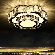 LED krystall lys absorbere dome lys soverom lys kreativ blomst søt romantikk sirkulær korridor lampe veranda balkong belysning lamper og