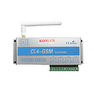 4 ממסר של GSM בקר SMS קוראים לשלט רחוק לעבור על דלת מוסך שער פותחן אור וילון מנוע משאבת אוטומציה הביתה