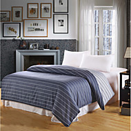 cheap Bed Pillows-Comfortable 1pc Duvet Cover Yarn Dyed Stripe