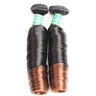 Emberi haj Brazil haj Ombre Göndör Póthajak 2 Fekete / Medium BROWM