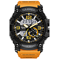 SMAEL Men's Wrist watch Sport Watch Digital Watch Fashion Watch Digital Alarm Water Resistant / Water Proof LED Luminous Dual Time Zones
