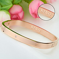 Titanium bracelet wholesale furnace rose gold bracelet wholesale Korea fashion accessories