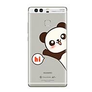 billiga Mobil cases & Skärmskydd-fodral Till huawei P9 / Huawei P9 Lite / Huawei P8 Genomskinlig / Mönster Skal Ord / fras / Tecknat Mjukt TPU för P10 Plus / P10 Lite / P10 / Huawei P9 Plus / Mate 9 Pro