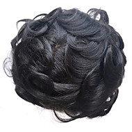 8x10inch Men Wig Toupee Swiss Lace Natural Remy Hair Replacement Systems Hairpiece