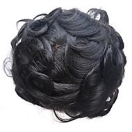 8x10inch miesten peruukki toupee sveitsiläinen pitsi luonnollinen remy hiusten korvaaminen järjestelmät hiuslakka