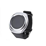 Ανδρικά Έξυπνο Ρολόι Ψηφιακό σιλικόνη Μπάντα Μαύρο Καφέ