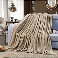 billiga Filtar och plädar-Super Soft, Tryckt Enfärgad Polyester filtar