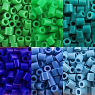 περίπου 500pcs / τσάντα 5 χιλιοστά χάντρες ασφάλεια hama diy παζλ eva υλικό safty για παιδιά (6 ανάμικτες χρώμα, b25-Β33)