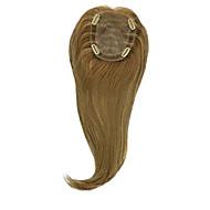 billige -Uniwigs kitty remy menneskehår topp hårbit hår topper rett y-411 t farge legg hårvolumet øyeblikkelig for hårtap
