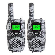 Holdbare camo walkie talkies til børn 22 kanal micro usb opladning 3 miles (op til 5miles) frs / gmrs håndholdte mini walkie talkies til