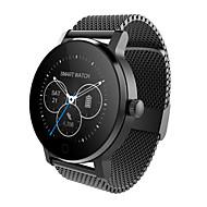 tanie Inteligentne zegarki-Inteligentny zegarek Ekran dotykowy Pulsometr Wodoszczelny Spalone kalorie Krokomierze Rejestr ćwiczeń Śledzenie odległości Informacje
