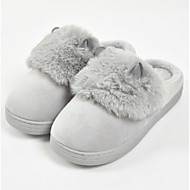 cheap Slippers-Casual House Slippers Women's Slippers Polyester Knit solid color