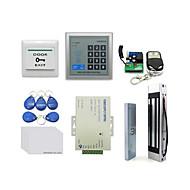 Ad2000-m bedrijf geïnstalleerd credit card toegangscontrole kaart systeem wachtwoord toegang controle systeem id kaart 125khz