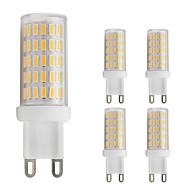 baratos Luzes LED de Dois Pinos-5pçs 3W 280lm G9 Luminárias de LED  Duplo-Pin T 86 Contas LED SMD 4014 Branco Quente / Branco Frio 220-240V / 5 pçs