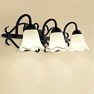 tanie Oświetlenie lustra-LED Modern / Contemporary Oświetlenie łazienkowe Na Metal Światło ścienne IP20 110-120V 220-240V 40W