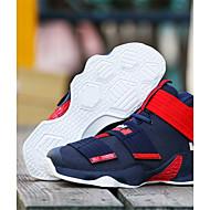 baratos Sapatos Masculinos-Homens Tecido Verão / Outono Conforto Tênis Basquete Preto e Dourado / Branco / Preto / Preto / Vermelho
