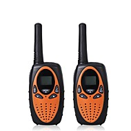 2pcs mini walkie talkie barn radio 1w uhf frekvens bærbar hf transceiver skinke radio barn gave
