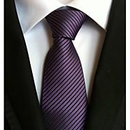 Per uomo Da ufficio / Essenziale Cravatta A strisce