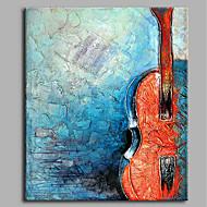 billiga Stilleben-Hang målad oljemålning HANDMÅLAD - Stilleben Artistisk Abstrakt Ledigt Duk