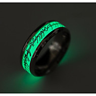 Pánské Dámské Široké prsteny Módní Titanová ocel Šperky Šperky Pro Denní
