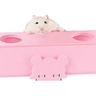 Hamsteri Puu Lelut Sininen Pinkki