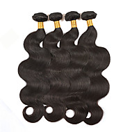 200g/4Pcs 8-26inch Natural Color Human Hair Weaves Brazilian Texture Body Wave Human Hair Weaves