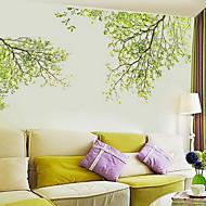 halpa -Kukkakuvio/Kasvitiede Wall Tarrat Lentokone-seinätarrat Koriste-seinätarrat materiaali Kodinsisustus Seinätarra
