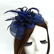 Χαμηλού Κόστους -Δίχτυ Γοητευτικά / Καπέλα / Καλύμματα Κεφαλής με Φλοράλ 1pc Γάμου / Ειδική Περίσταση Headpiece