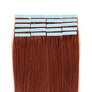"16""-24"" Tape in Remy Human Hair Extensions 20pcs/pack 2.5g/pc Dark Black Blonde Brown Hair"