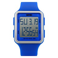 skmei 1139女性は、デジタル時計の学生の屋外スポーツの腕時計ファッションカジュアル少年少女防水腕時計relogio