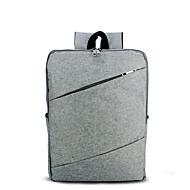 billige Computertasker-Herre Tasker Lærred Laptoptaske Lynlås for Office & Karriere / Professionelt brug Sort / Grå / Kaffe