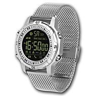 tanie Inteligentne zegarki-Inteligentne Bransoletka Wodoszczelny Spalone kalorie Krokomierze Rejestr ćwiczeń Śledzenie odległości Długi czas czuwania Informacje