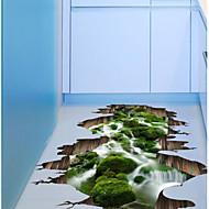 3D Zid Naljepnice 3D zidne naljepnice Dekorativne zidne naljepnice, plastika Početna Dekoracija Zid preslikača Kat