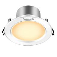billige Innfelte LED-lys-5 W 300 lm 10 LED perler Led-Nedlys Varm Gul 220 V / CE / 90