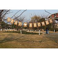 Festa / Ocasião Especial / Festa/Eventos Material Papel de Cartão Decorações do casamento Férias Primavera/Outono/Inverno/Verão