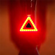 billige Sykkellykter og reflekser-Sykkellykter Baklys Belysning Baklys til sykkel sikkerhet lys LED LED Sykling Bærbar Justerbar Lettvekt Høy kvalitet Fort Frigjøring
