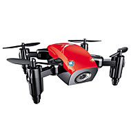 Drone S9 4CH 6 Eksen 0.3MP HD Kamera ile Yükseklik Holding WIFI FPV Dönüş Için Tek Anahtar Otomatik Kalkış Erişim Gerçek Zamanlı Film