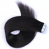 Tape In Human Hair Extensions Silky Straight Skin Weft Human Remy Hair 16-24