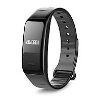 smart armbånd / smartwatch hjertefrekvens blodtryk overvågning meddelelse påmindelser skridttæller vandtæt armbånd til ios android app