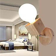 tanie Kinkiety Ścienne-Modern / Contemporary Lampy ścienne Na Drewno/Bambus Światło ścienne 220-240V