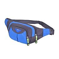 Herren Taschen Sommer Nylon Hüfttasche Reißverschluss für Blau Schwarz Rosa Graues Grün