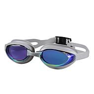 משקפי שחייה משקפי שחייה חוץ מגן סיליקה ג'ל PC כחול