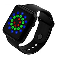 tanie Inteligentne zegarki-zegarki sportowe męskie moda cyfrowa wodoodporna zegarek damski student silikonowe zegarek ręczny elektroniczny zegarek cyfrowy skmei 1176